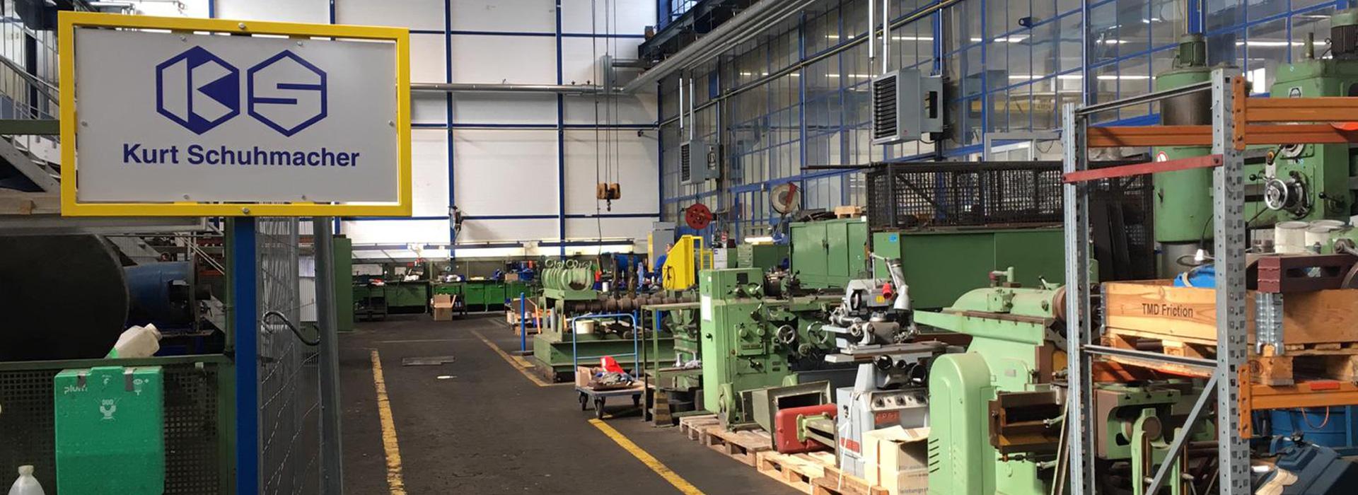 Kurt Schuhmacher Industriemontagen Werkstatt beim RWE